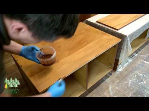 Реставрация мебели своими руками. Набор для нанесения масла Wooden Studio OIL MINI SET HD