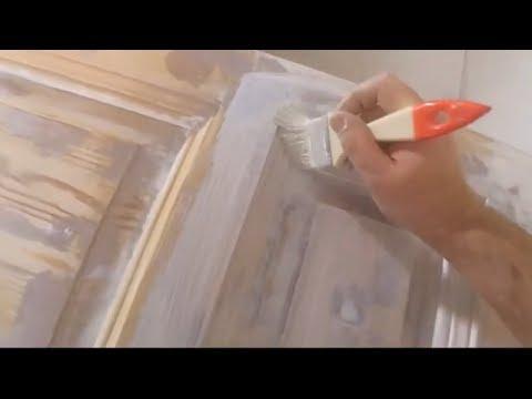 9. Покраска и итог. Реставрация и ремонт старых деревянных межкомнатных дверей.