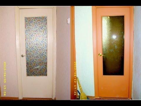 Косметический ремонт реставрация дверей в квартире