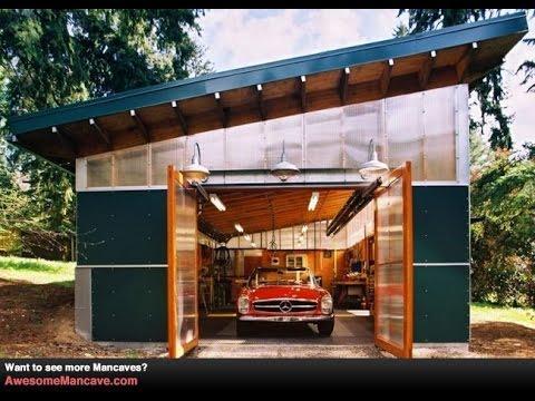 Ремонт крыши гаража своими руками видео