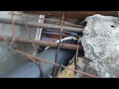 Ремонт гаража поднятие гаража яма в гараже. Часть 7