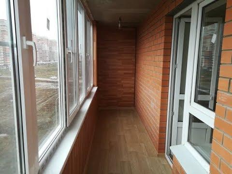Самый быстрый способ отделки балкона.
