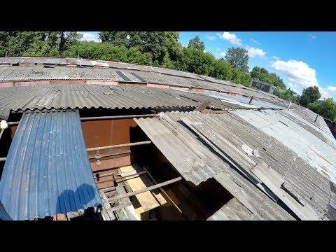 Как легко одному перекрыть крышу в гараже и сломать хребет