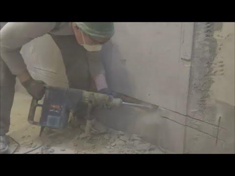 Ремонт в новостройке с нуля.Подготовка к укладке плитки.