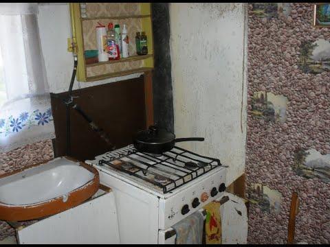 Ремонт кухни в деревянном частном доме. Ремонт кухни своими руками. Ремонт кухни 6 кв.м