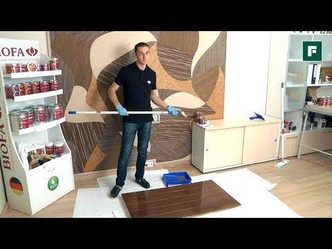 Особенности покраски деревянных напольных покрытий // FORUMHOUSE