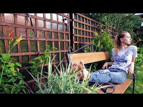 Деревянная решетка своими руками на забор (короткая версия)