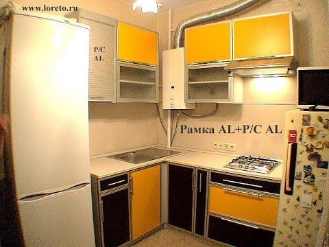 Дизайн кухни в хрущевке с газовой колонкой   фото и идеи обустройства 5 - 6 кв. м