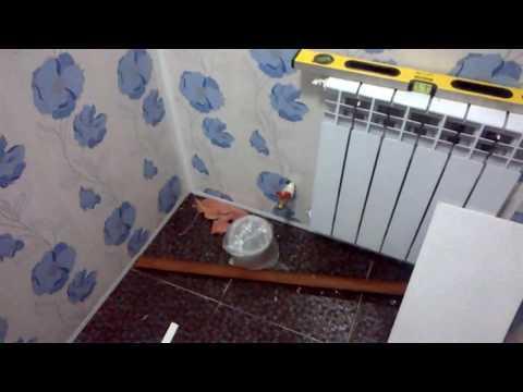 ремонт туалета под ключ,своими руками.