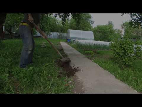 Садовая дорожка из хлама своими руками