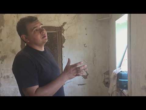 Ремонт в саманном доме, подготовительные работы
