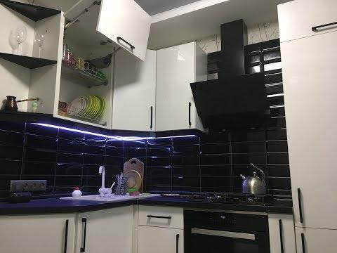 Недорогой ремонт кухни 9 кв. м своими руками