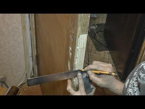 Реставрация деревянной двери - мастер класс
