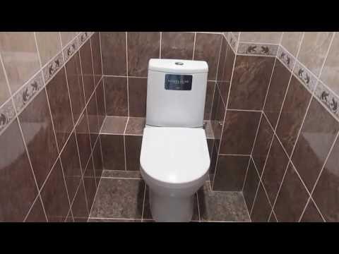 #Ремонттуалета Ремонт туалета(Эконом класс) за 5 мину!г.Брянск!