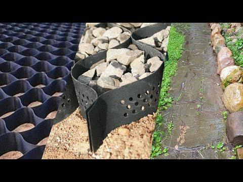 Вечные дорожки на участке без бетона и без проблем. Видео обзор.